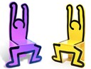 KEITH HARING CHAIR COLLECTION