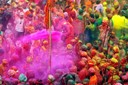 Colours of Holi Day Festival India