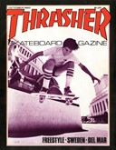 Rodney Mullen on the cover of Thrasher