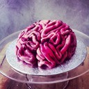 Brain cake by Lily Vanilli