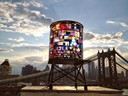 Stained Glass Water Tower, Tom Fruin