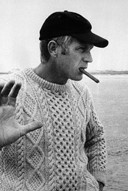 Knitted jumper as worn by Steve McQueen