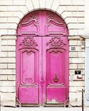 Paris Door Pink