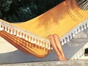 hammock with tassels