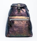 LANVIN IRIDESCENT CALFSKIN BACKPACK