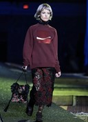 GEORGIA MAY JAGGER IN MARC JACOBS SS2014 SHOW