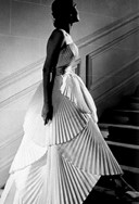 Pleated Dior dress, 1950