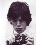 Mick Jagger with Camera