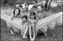 Jane Birkin, Serge Gainsbourg, Charlotte Gainsbourg and Kate Barry