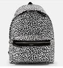 SAINT LAURENT LEOPARD BACKPACK