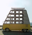 Many-decker VW Van