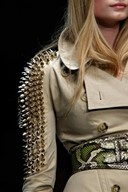 Studded trench by Burberry Prorsum