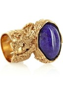 Yves Saint Laurent Arty glass ring
