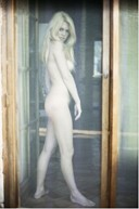 Brigitte Bardot being photographed nude for the first time