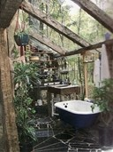 Outdoor/indoor bathing