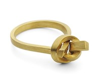 Jessica Poole High Knot ring