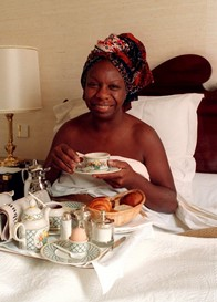 Breakfast in bed with Nina Simone