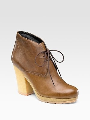 Prada - Lace-Up Ankle Boots - Saks.com