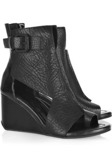 Alexander Wang / Raven Cutout Leather Boots