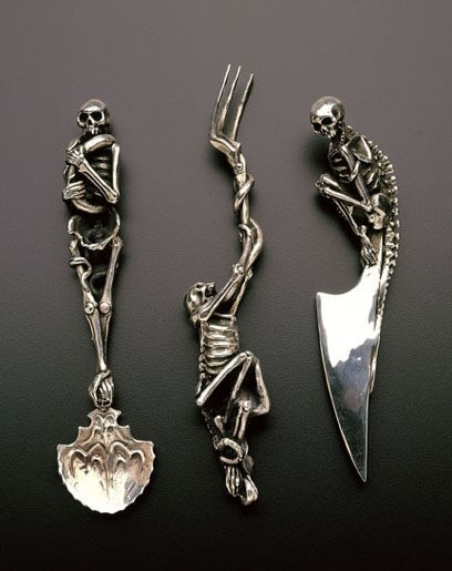 Skeleton Silverware