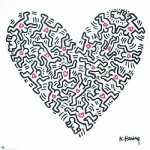 Untitled, Keith Haring 1984
