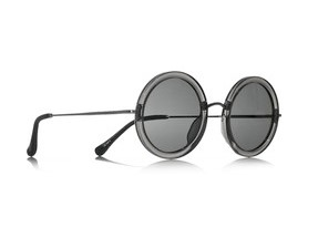 The Row, Round-frame acetate and metal Sunglasses