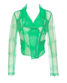 Christopher Kane, Neon Lace biker Jacket S/S11