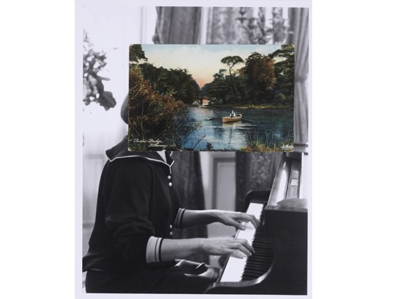 John Stezaker collage