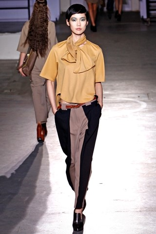 Two-tone trousers at Philip Lim 3.1 A/W11