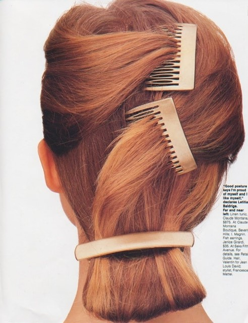 Hair grips and slides