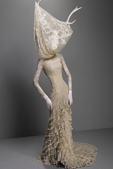 Costume Institute's 'Alexander McQueen: Savage Beauty' Exhibit
