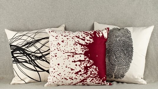 Forensic Pillows by Lost City Arts