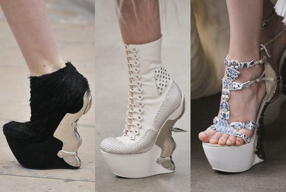 Alexander McQueen Shoes Fall 2011-12