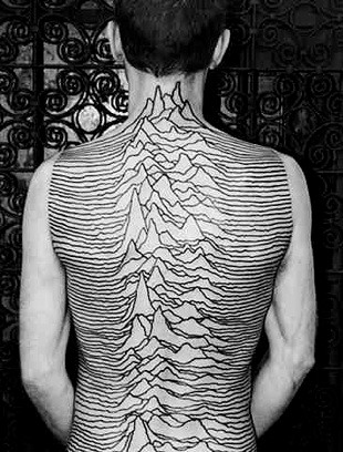 Unknown Pleasures tattoo