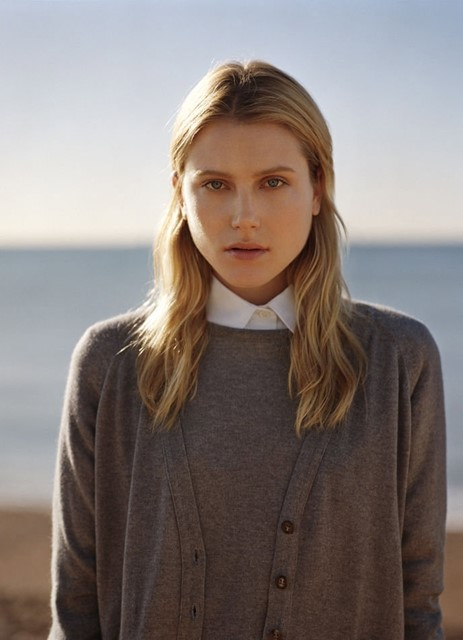 Margaret Howell S/S11 knitwear and shirt