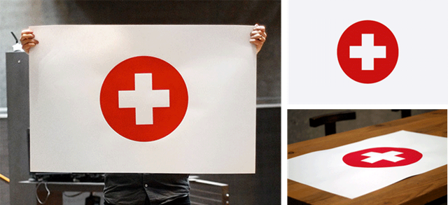 Wieden + Kennedy poster 100% of the proceeds go to the Japanese earthquake and tsunami relief.