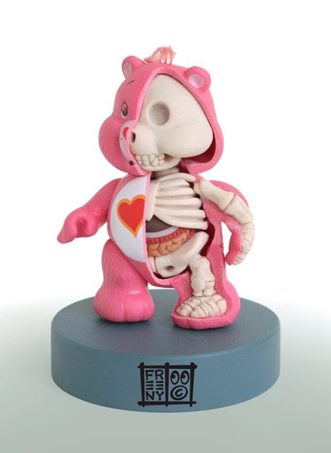 CARE BEAR ANATOMICAL SCULPT BY JASON FREENY