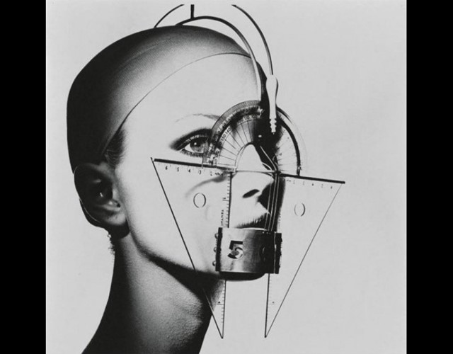 'Protractor Face' by Irving Penn.