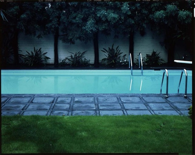 poolphoto by Bill Owens, 1980