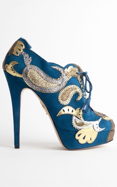 Orient Express Bootie Charlotte Olympia
