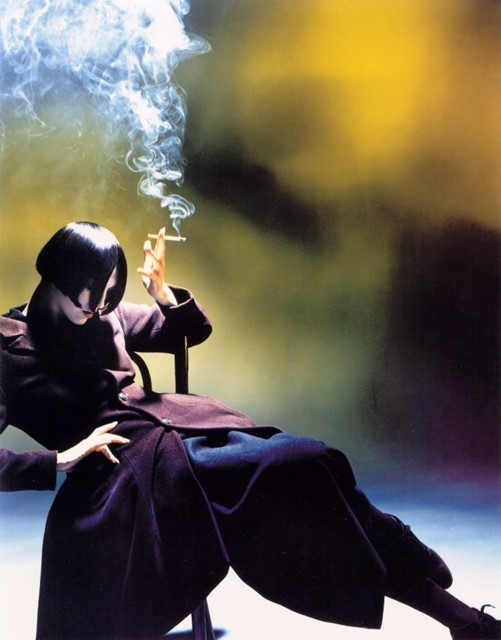 Susie Smoking by Nick Knight