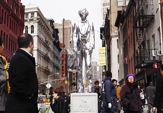 Andy Warhol by Rob Pruitt - Union Square NY
