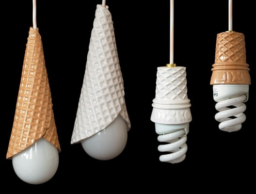 Ice cream bulbs