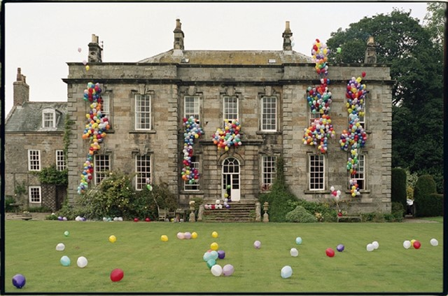 Balloon house photograph by Tim Walker