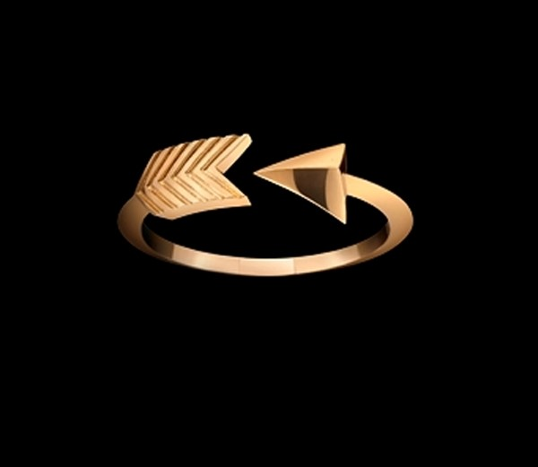 Cupid's Arrow ring by Solange Azagury-Partridge