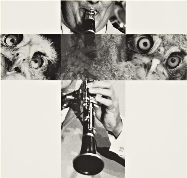 JOHN BALDESSARI The Intersection Series: Clarinetist and Owls, 2001