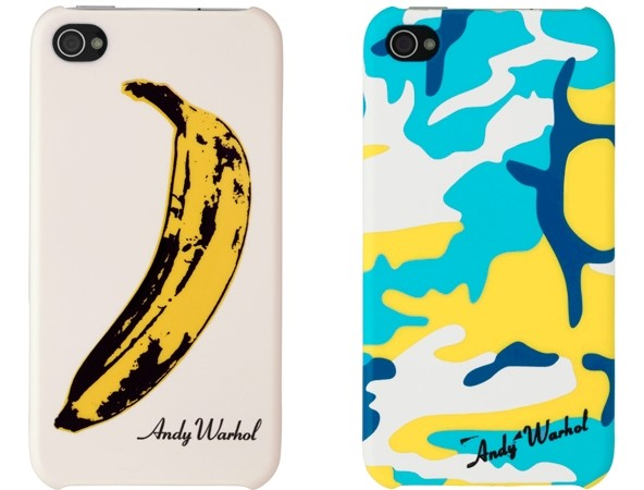 Andy Warhol iPhone cases.
