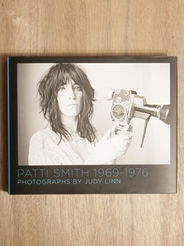 "Judy Linn, ""Patti Smith 1969-1976 Photographs"""