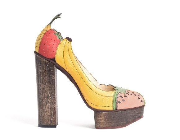 Bananas Is My Business by Charlotte Olympia