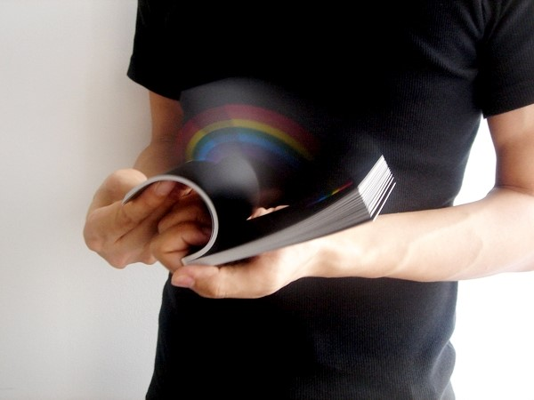 Rainbow in your hand flip book
